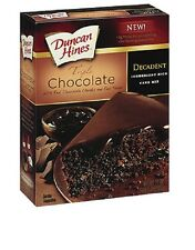 Duncan Hines Decadent Triple Chocolate Cake Mix 595g