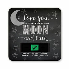 Baby bath thermometer-to the moon et arrière design
