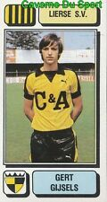 182 GERT GIJSELS BELGIQUE LIERSE.SV STICKER FOOTBALL 1983 PANINI