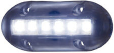 White High Intensity LED Underwater Light for Boats - Attracts Bait Fish