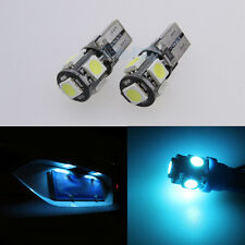 Ice Blue W5W 501 T10 168 License Number Plate Light Bulbs Lamps For BMW E81 E87