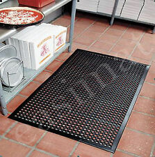 Large Heavy Duty Industrial Rubber Bar Safety Floor Mat Anti-Fatigue 5' x 3' 514