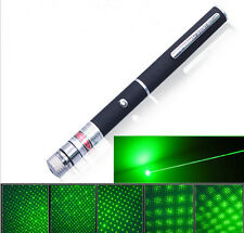 High Power Green Laser Pointer Pen Visible Beam Light 5mW Lazer 532nm Projector