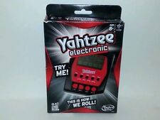 Hasbro Electronic Yahtzee ~ Handheld ~ Brand New, Factory Sealed