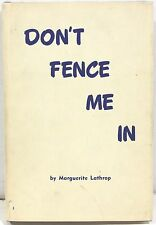 Don't Fence Me In by Marguerite Lathrop 1972 – Colorado Sheep Ranching