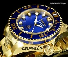NEW Invicta 47mm Grand Diver Gen II Automatic BLUE DIAL Gold Tone Bracelet Watch