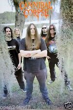 "CANNIBAL CORPSE ""GROUP STANDING BY SWAMP"" POSTER FROM ASIA - Death Metal Music"