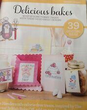 """COUNTED CROSS STITCH CHART..."""" DELICIOUS BAKES"""" 39 Projects"""