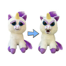 William Mark Corporation Feisty Pets Glenda Glitterpoop Unicorn Plush NEW
