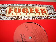 """The Fugees Take It Easy 12"""" Single NM Columbia 82876-75252-1 2005"""