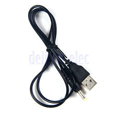USB A to DC 5V 4.0mm/1.7mm Power Adapter Cable Lead 80cm Charger for Sony PSP DH