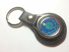 Defense Intelligence Agency`DIA` U.S.A. ' Leather  Key Ring `MORE SPY`S`