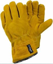 Tegera 17 Split Grain Cowhide Safety Welding Gloves Heat Resistent Size 8