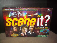 Scene It? Harry Potter DVD Game 2005 Mattle Complete 1st 4 Movies Trivia