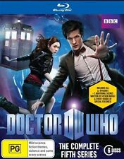 DOCTOR WHO - THE COMPLETE FIFTH SERIES BLU-RAY DVD - 6 DISCS - FACTORY SEALED