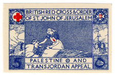 (I.B) Cinderella Collection : British Red Cross Palestine & Transjordan Appeal