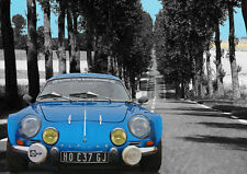 AUTOMOTIVE ART - ALPINE RENAULT  - HAND FINISHED, LIMITED EDITION (25)