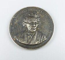 Silber-Medaille 80,2 Gramm Preussen Berlin David Hansemann 1851   (da4552)
