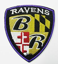 LOT OF (1) NFL BALTIMORE RAVENS EMBROIDERED CREST PATCH ITEM # 32