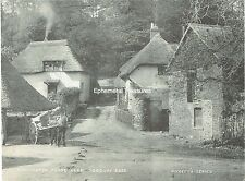 Cockington Forge, near Torquay, Devon. C.1890 photogravure