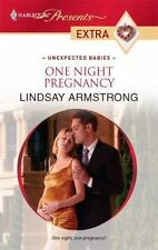 One Night Pregnancy ( Armstrong, Lindsay ) Used - VeryGood
