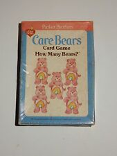 Parker Brothers 1983 Care Bears Card Game ~ How Many Bears?