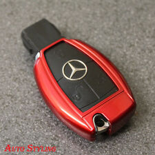 RED KEY COVER PER MERCEDES SMART Remote Fob 2 3 4 BOTTONI scafo BAG 70fr