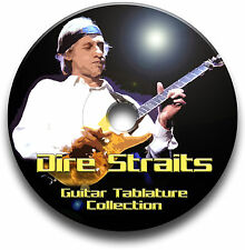 DIRE STRAITS ROCK GUITAR TABS TABLATURE SONG BOOK SOFTWARE BEST OF CD