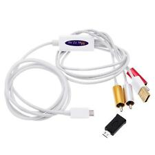 New Micro USB MHL to RCA HDTV Adapter AV Cable for Samsung Galaxy S2 S3 S4 Note