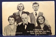 Mickey Rooney  - AK - Foto Autogramm-Karte - Photo Postcard (Lot # F5882