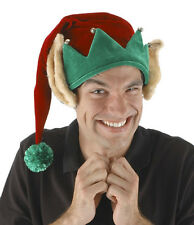 Funny Elf Hat with Ears Adult Christmas Party Headwear