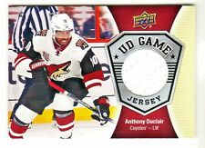 2016-17 Upper Deck UD GAME JERSEY RELIC #GJ-AD ANTHONY DUCLAIR Phoenix Coyotes