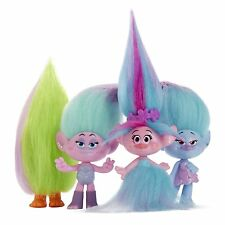 Trolls Poppys Fashion Frenzy Set DreamWorks 4 Figures Dolls Kids Toy Pack New