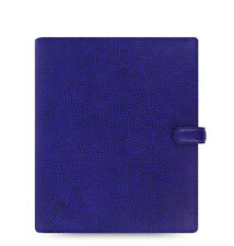 Filofax A5 Finsbury Leather Organizer Electric Blue Leather- 022500 - 2017 Diary