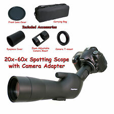 20-60x 60a 2000mm 6000mm Spotting Telescope for Nikon D3s D3000 D300 Digiscoping