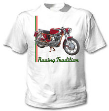 DUCATI 200 Elite 1959 Ispirato-NUOVO Amazing Graphic T-Shirt S-M-L-XL - XXL
