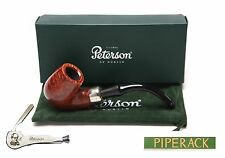 NEW Peterson System Briar Pipe Smooth Finish (312) with Free Pipe Tool P Lip