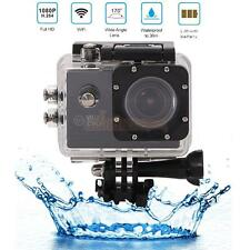 "Hot for SJ7000 2.0"" LCD Wifi Full HD 1080P Waterproof Sport Action Camera Black"