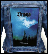 DRUDKH --- Giant Backpatch Back Patch / Walknut Kroda Astrofaes Nokturnal Mortum