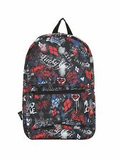 GOTHIC EXCLUSIVE DC COMICS SUICIDE SQUAD HARLEY QUINN SKETCHY BACKPACK HOT TOPIC