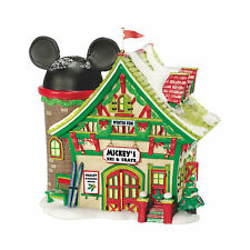 Dept 56 Disney Christmas Village Mickey's Ski & Skate 811263 Mickey Mouse NEW