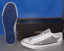 """CONVERSE """"CHUCK TAYLOR"""" CT OVERLAY OX in colors WHITE / VICTOR MENS 7 WOMENS 9"""