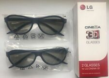 Original 2 pcs x LG Glasses AG-F310 FOR ALL MODELS LG 3D Best Seller Best Price