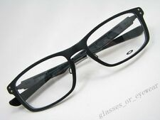 eyeglass frames oakley plank ox3090 22 193 matte black aluminium glasses frame