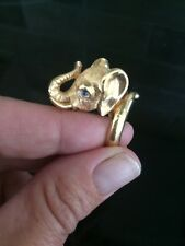 Rare Vintage Trifari Elephant Ring Something Wild Collection ?