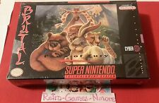 Brutal Paws Of Fury ( Super Nintendo, 1994), SNES, Actual pic, Sealed, Authentic