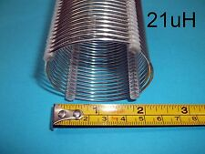 "Air Coil, RF Inductor, 21 uH, 2""X3"" , AWG 16, (IC25)"