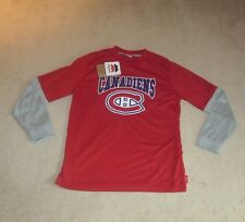 Montreal Canadiens Long Sleeve T-Shirt Youth size Large (14-16) New FREE SHIP