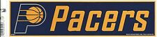 INDIANA PACERS NBA LICENSED BUMPER STICKER NEW