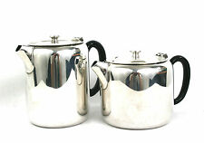 Vintage Silver Plated Tea & Coffee Pot Porwell Patent John Round & Sons c.1920